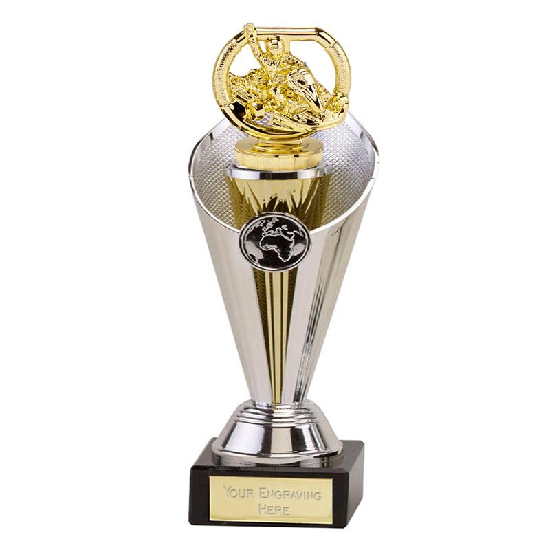 22cm Gold Go-Kart Figure On Motorsports Beacon Award