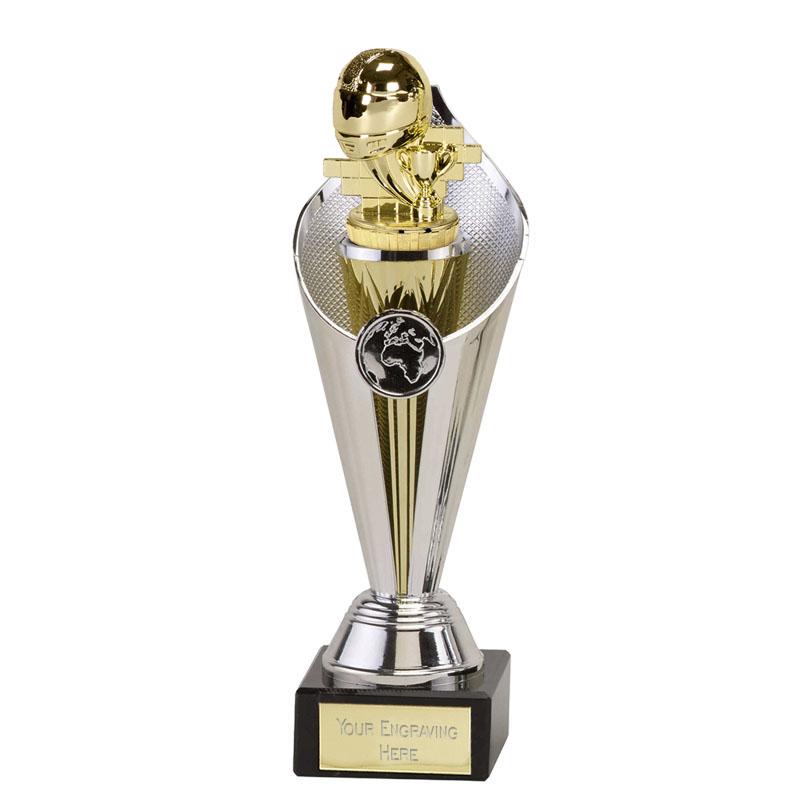 24cm Gold Motorsport Neutral Figure on Motorsports Beacon Award