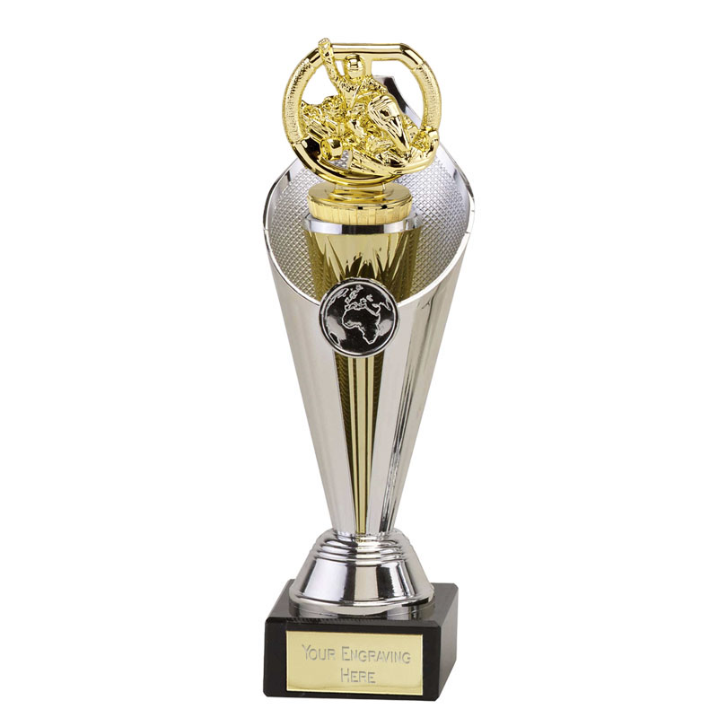 27cm Gold Go-Kart Figure On Motorsports Beacon Award