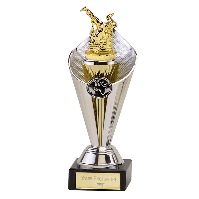 27cm Gold Street Dance Figure On Dance Beacon Award