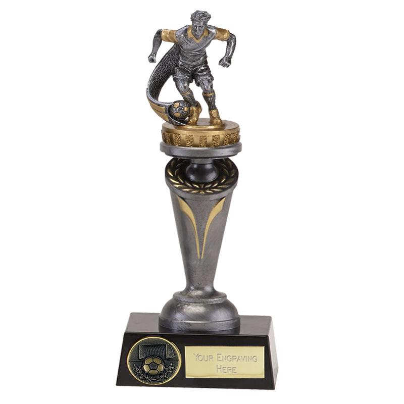 22cm Football Figure On Crucial Award