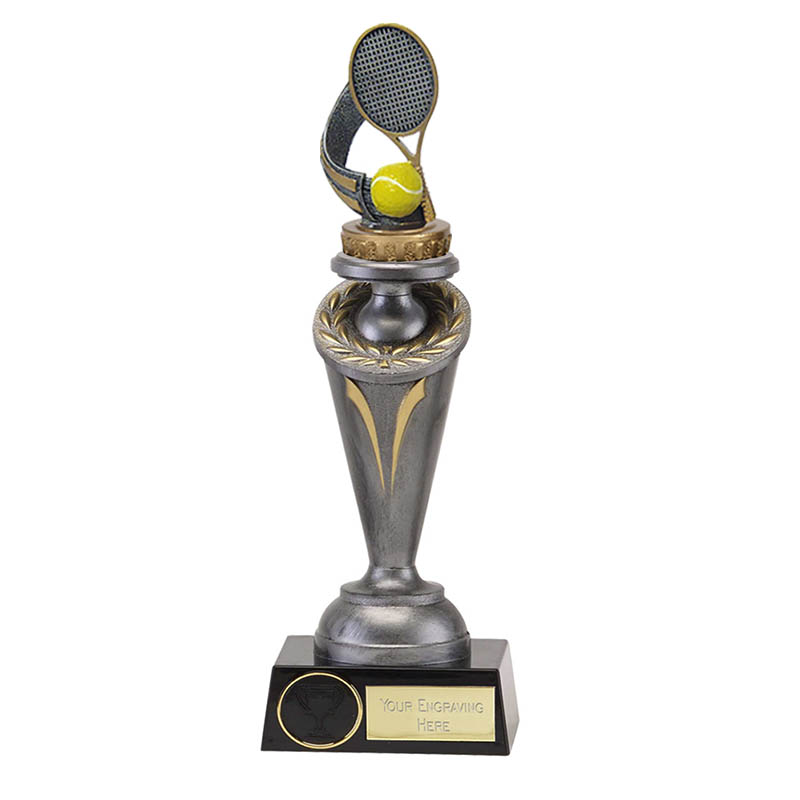 22cm Tennis Figure On Crucial Award