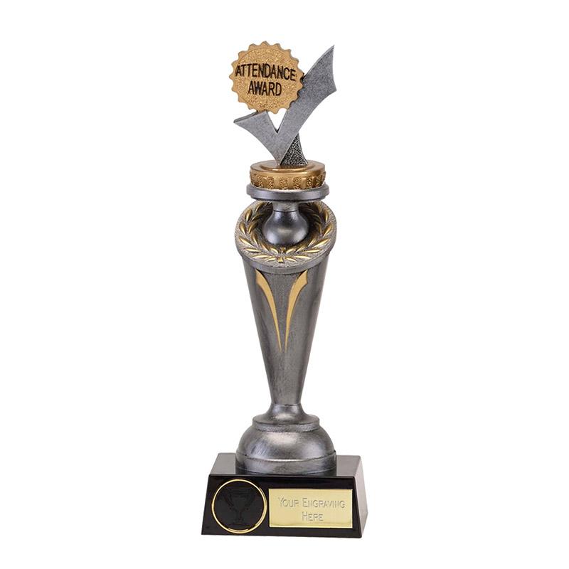 22cm Attendance Figure on School Crucial Award