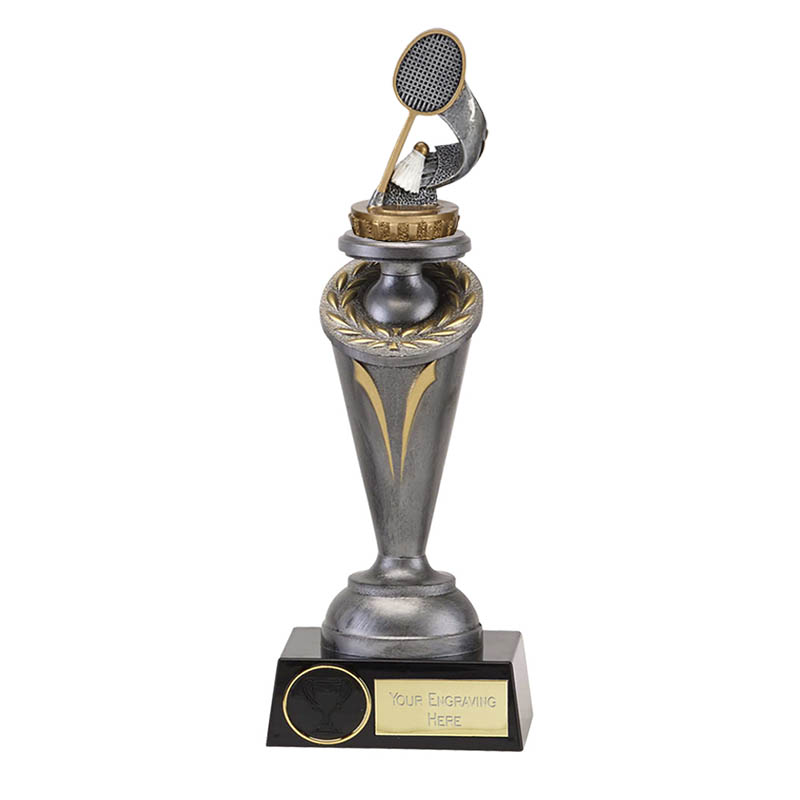 22cm Badminton Figure On Crucial Award