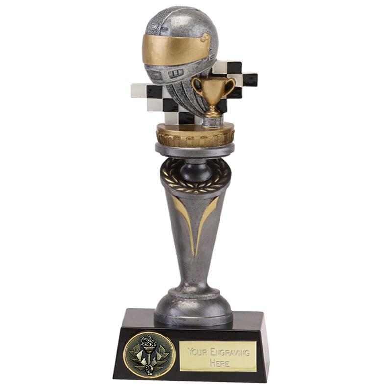 22cm Motorsports Neutral Figure On Crucial Award