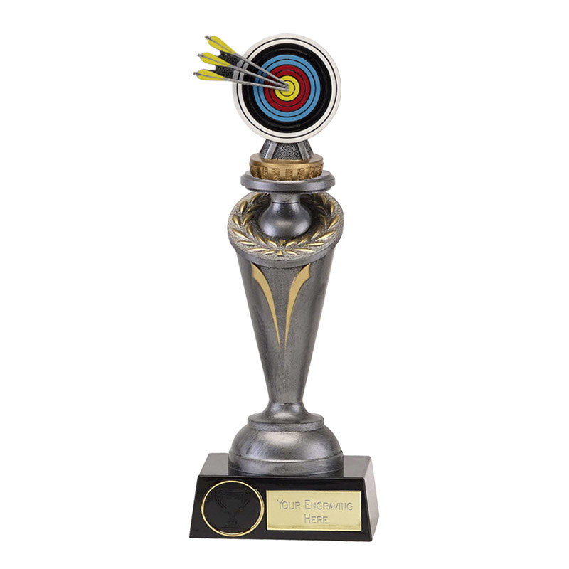 22cm Archery Figure on Archery Crucial Award