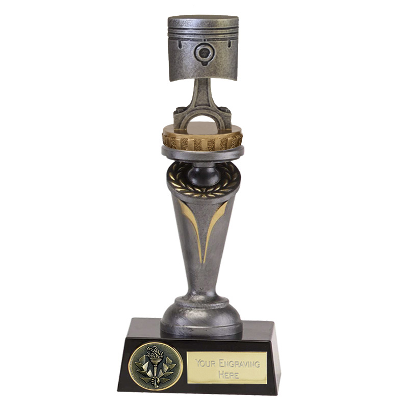 22cm Piston Figure on Motorsports Crucial Award