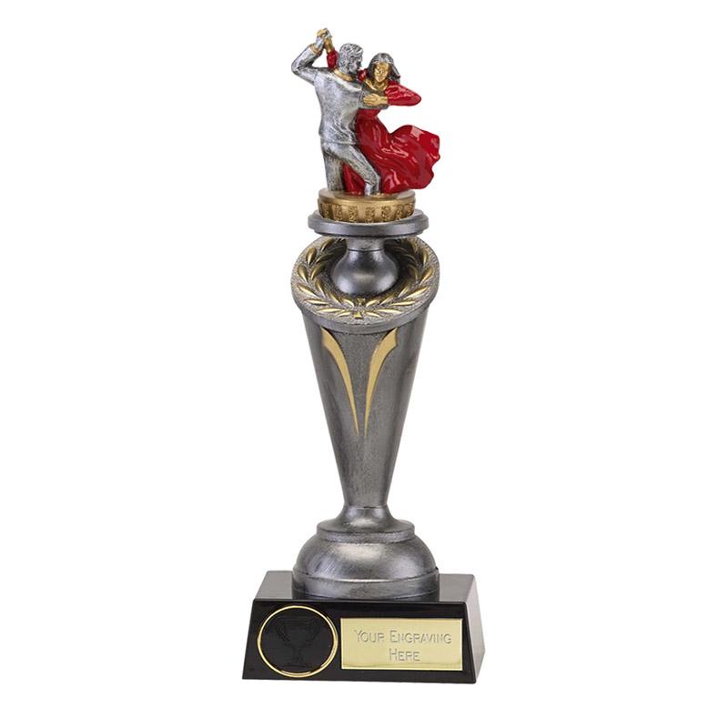22cm Ballroom Dancing Figure On Dance Crucial Award