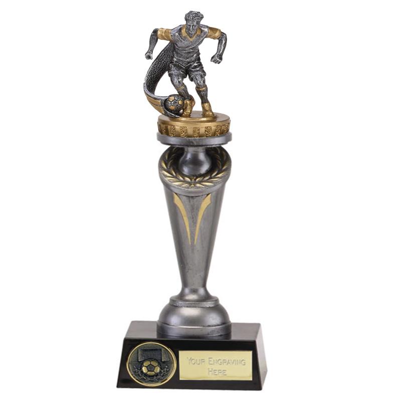 24cm Football Player Figure on Football Crucial Award