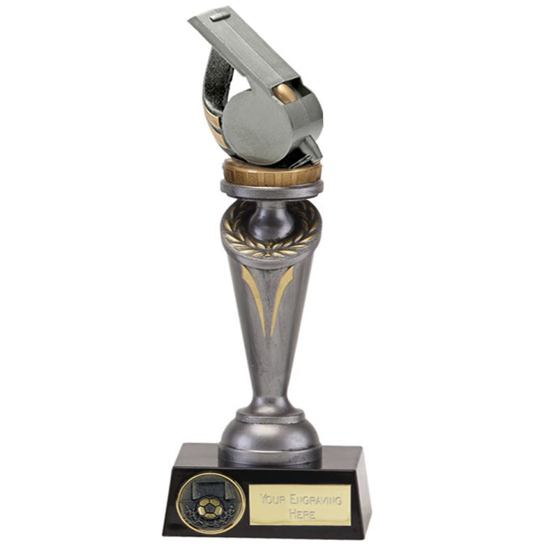 24cm Whistle Figure On Crucial Award