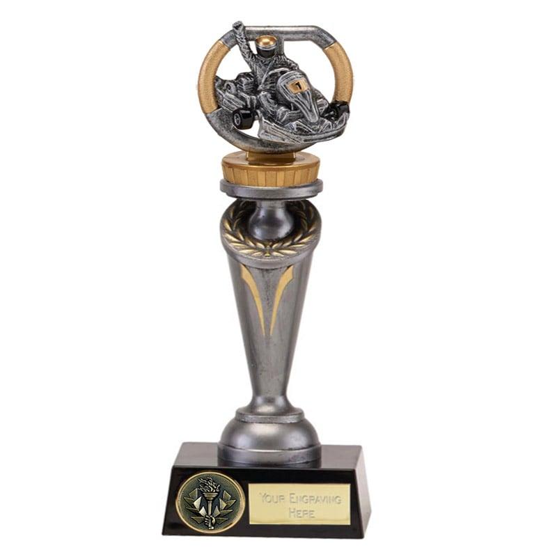 24cm Go-Kart Figure On Motorsports Crucial Award