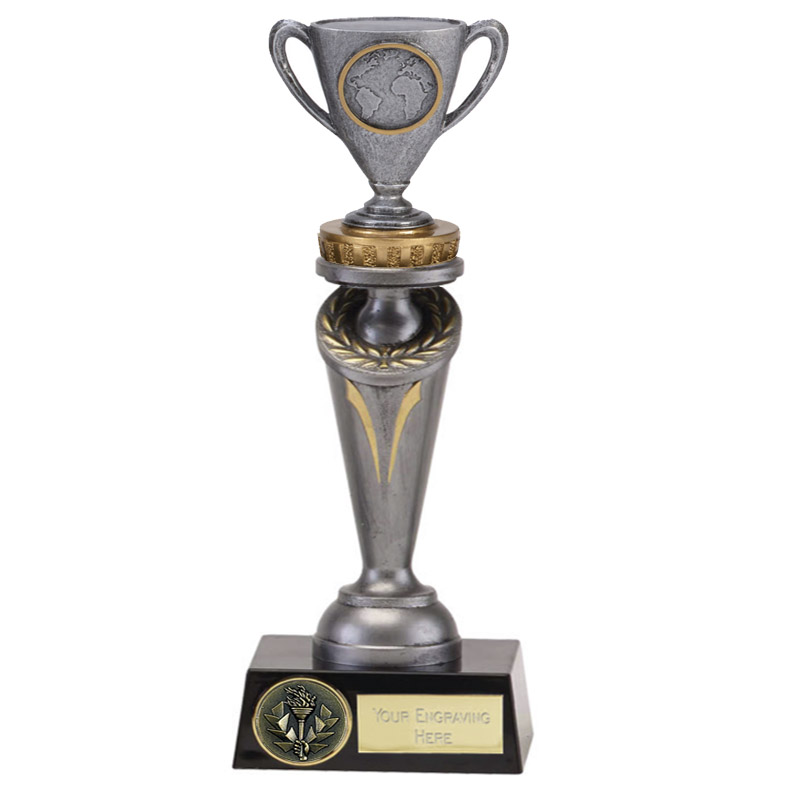 24cm Cup with Centre Figure on Crucial Award