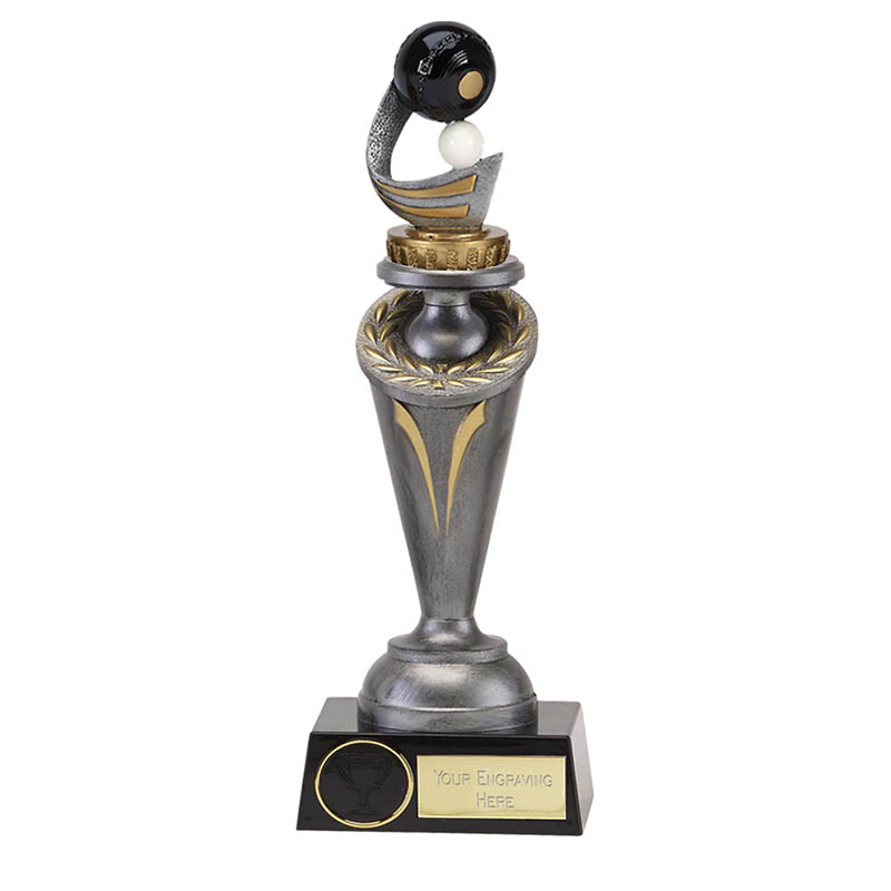 24cm Lawn Bowls Figure on Bowling Crucial Award