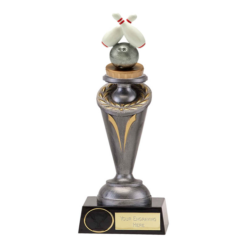 24cm Ten Pin Bowling Figure on Crucial Award