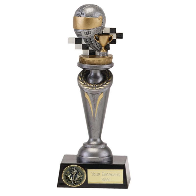 24cm Motorsports Neutral Figure On Crucial Award