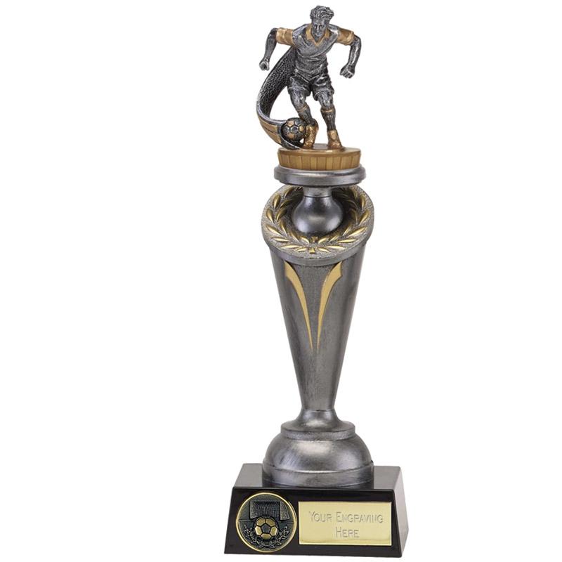26cm Football Player Figure on Football Crucial Award
