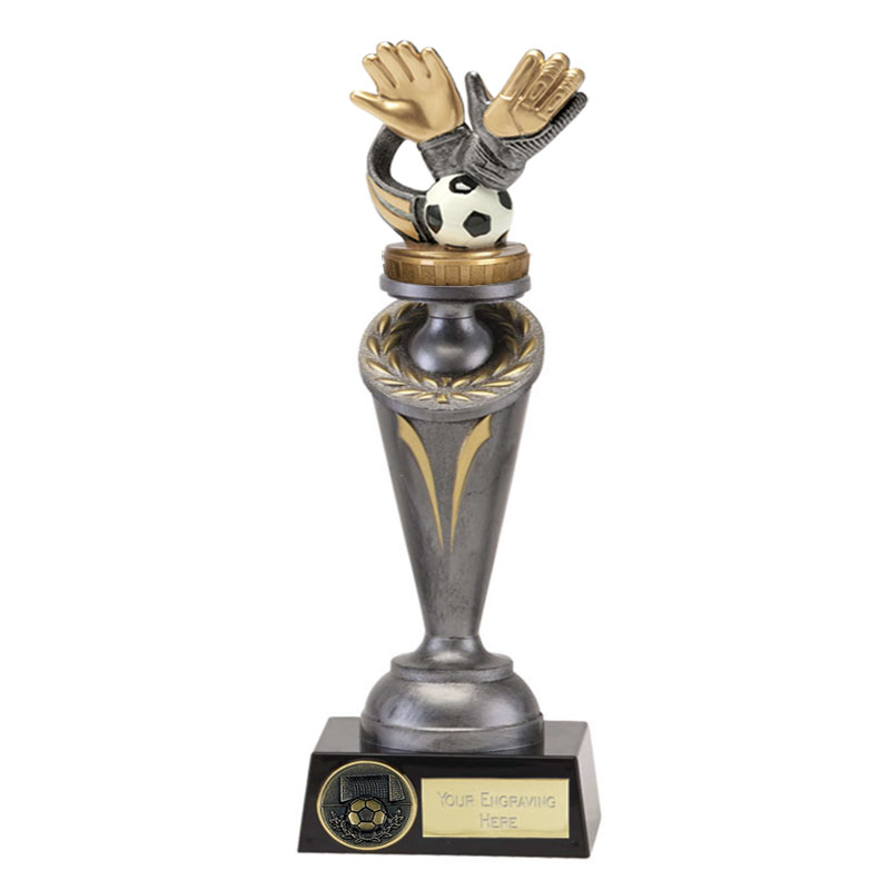 26cm Keeper Glove Figure on Football Crucial Award