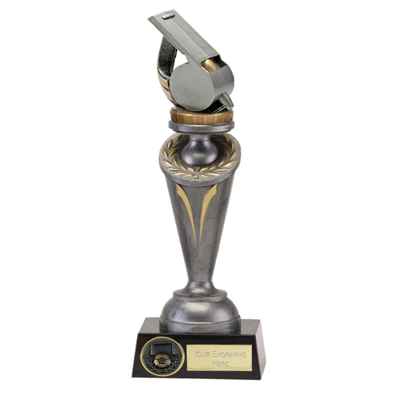26cm Whistle Figure on Crucial Award