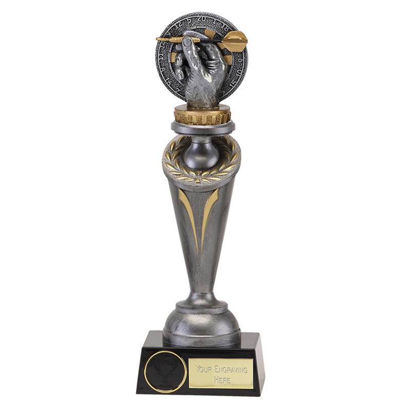 26cm Darts Figure On Crucial Award