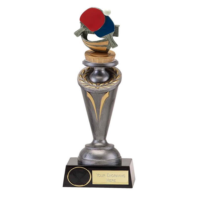 26cm Table Tennis Figure On Crucial Award