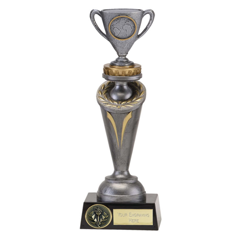 26cm Cup with Centre Figure on Crucial Award