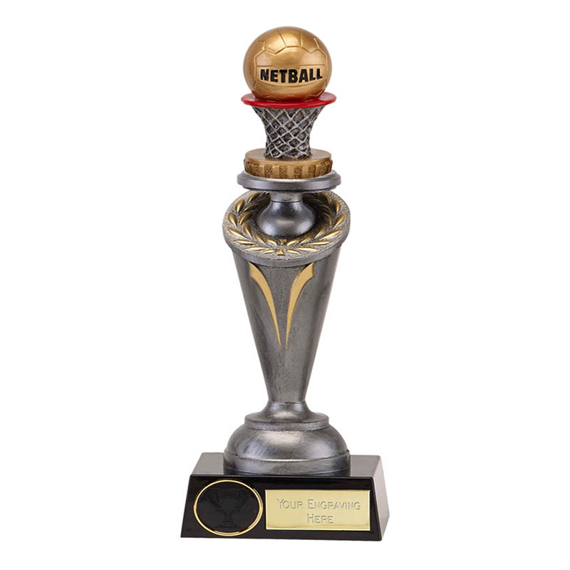 26cm Netball Figure on Netball Crucial Award