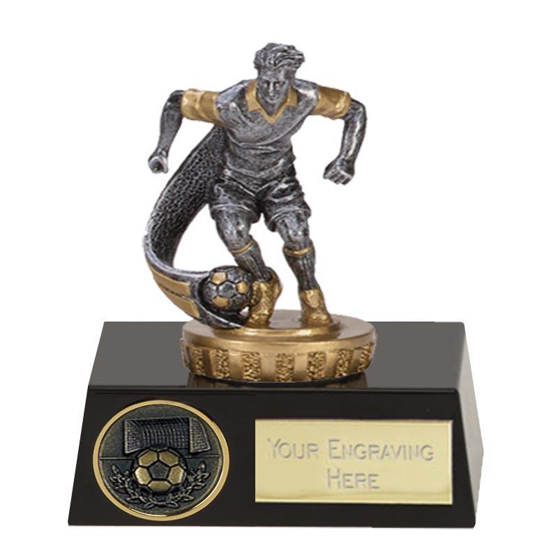 11cm Football Player Figure on Football Meridian Award