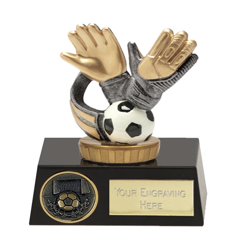 11cm Keeper Glove Figure on Football Meridian Award