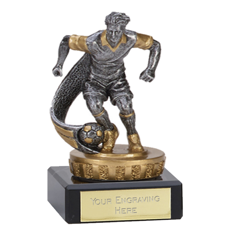 4 Inch Football Figure On Classic Award