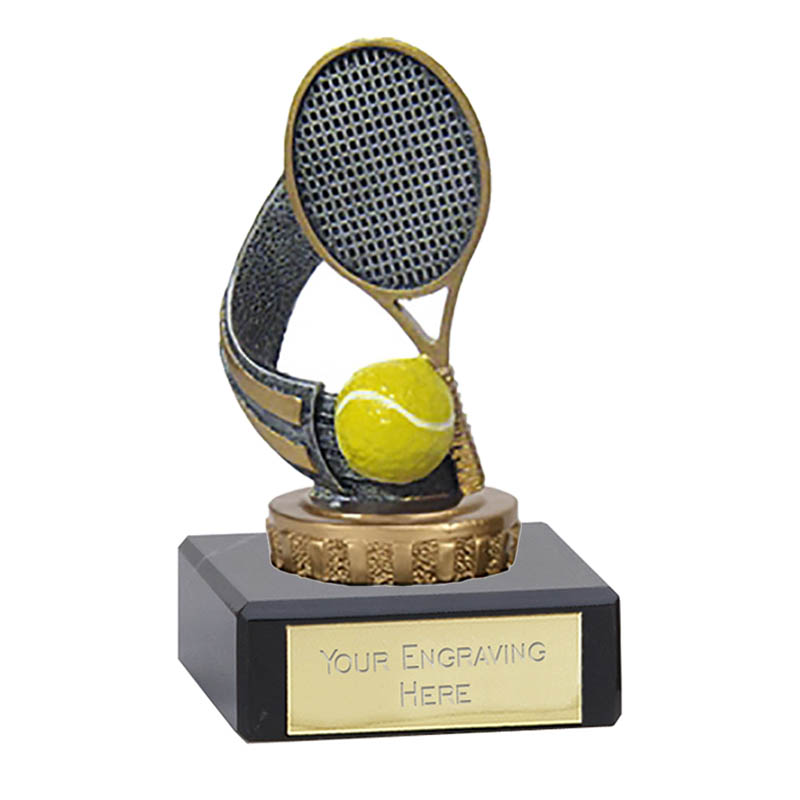4 Inch Tennis Figure On Classic Award