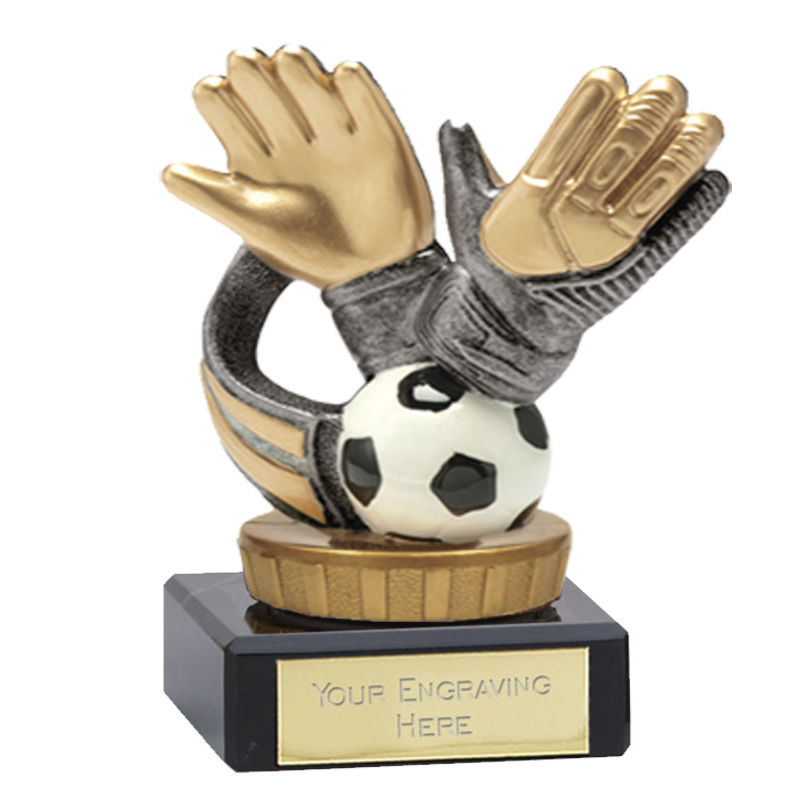 4 Inch Keeper Glove Figure On Football Classic Award