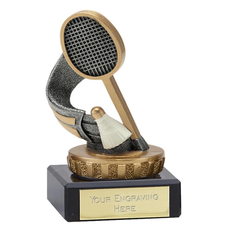 4 Inch Badminton Figure On Classic Award