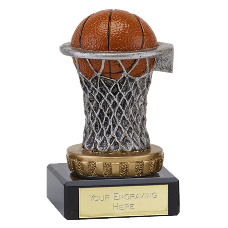 4 Inch basketball figure on Classic Award