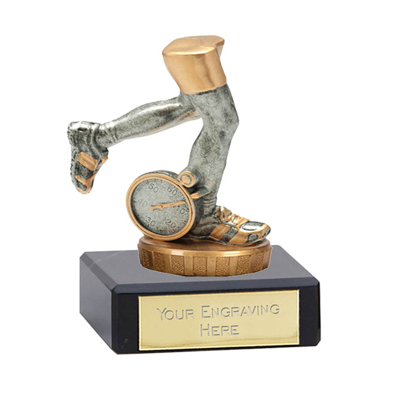 4 Inch Running Neutral Figure On Classic Award