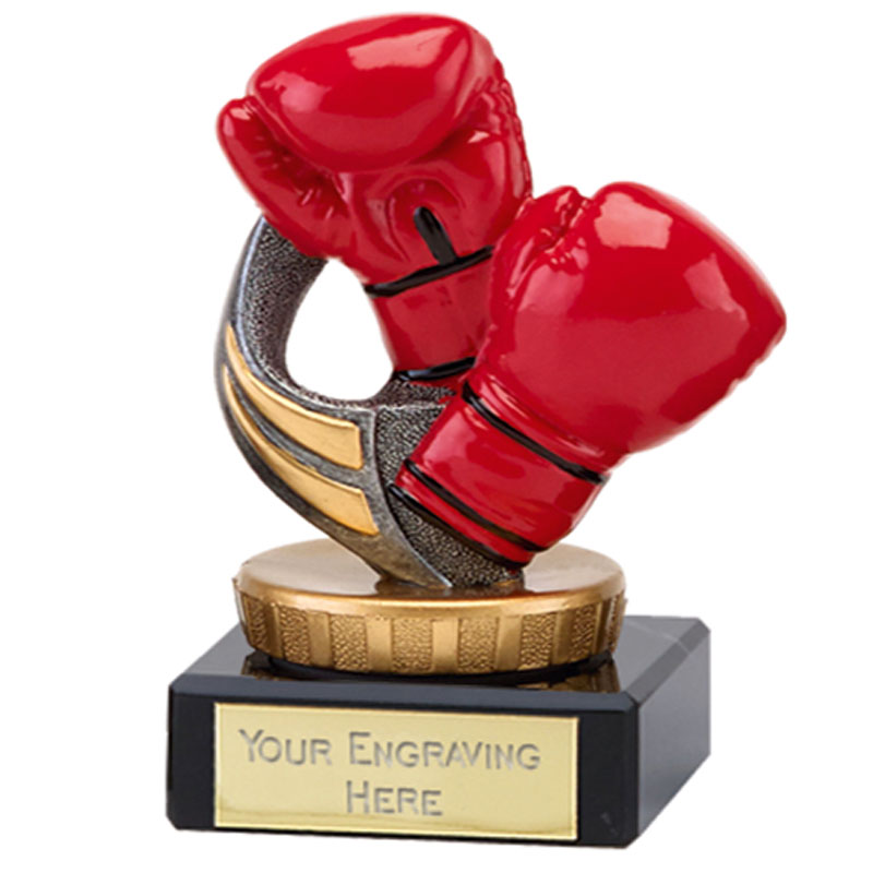 4 Inch Boxing Figure on Boxing Classic Award