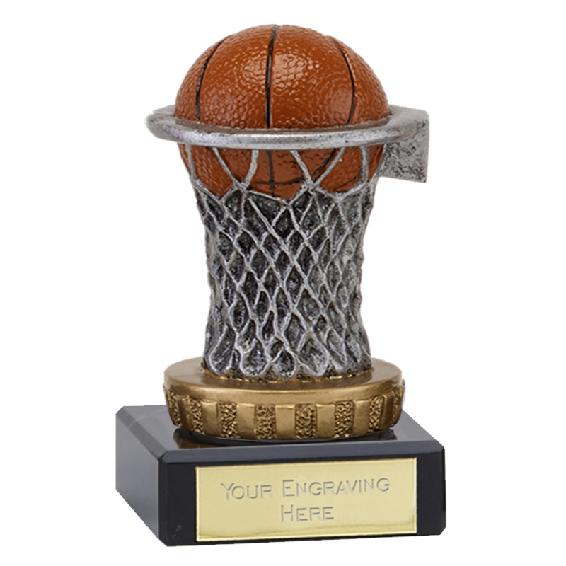 4 Inch Netball Figure on Classic Award