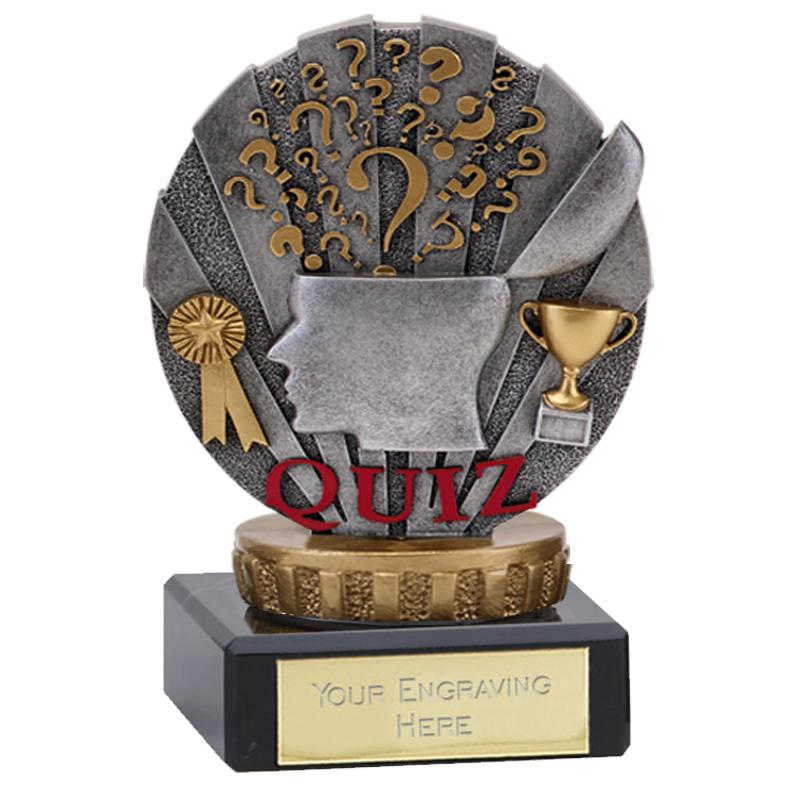4 Inch Quiz Figure On School Classic Award
