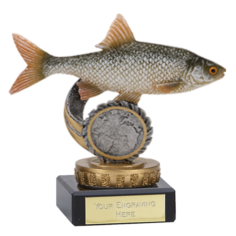 4 Inch Fish Roach Figure on Fishing Classic Award