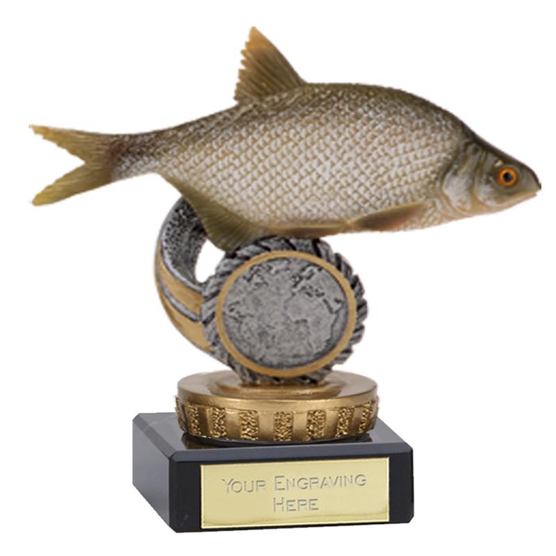 4 Inch Fish Bream Figure On Fishing Classic Award