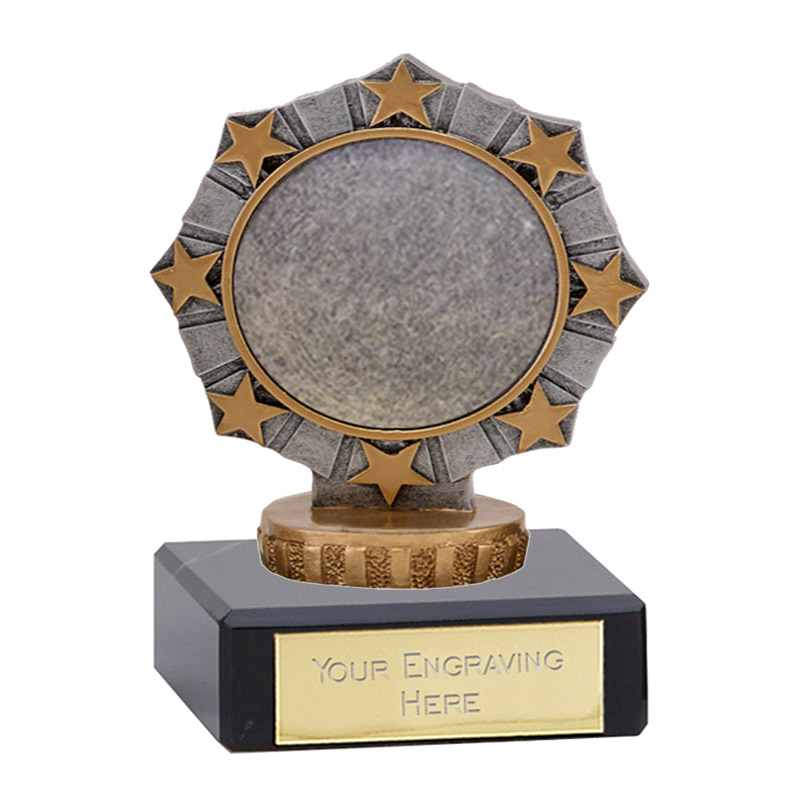 4 Inch Worlds Best centre Figure on Classic Award