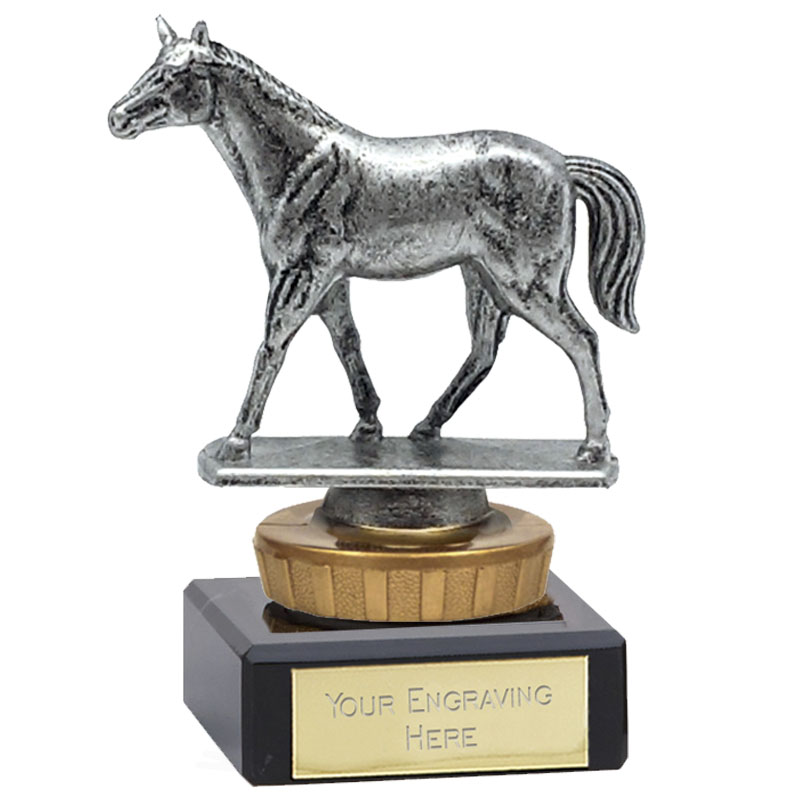 4 Inch Quarter Horse Figure on Horse Riding Classic Award