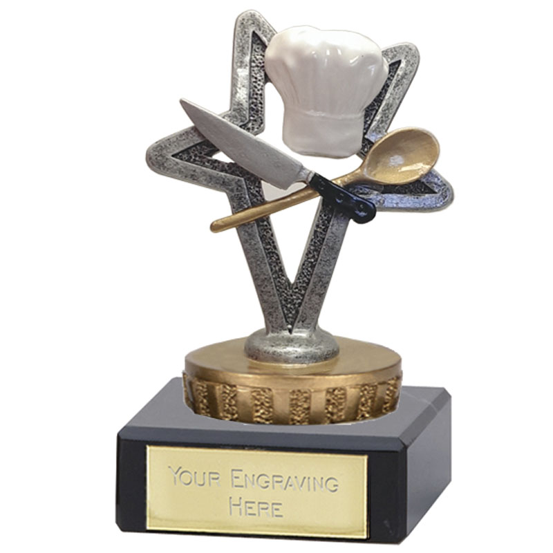 4 Inch Cookery Figure on School Classic Award