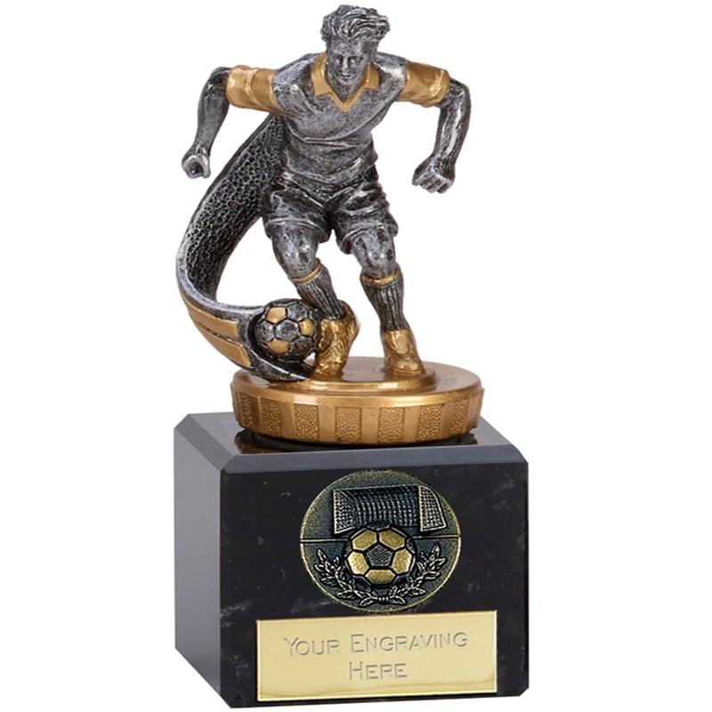 12cm Football Player Figure on Football Classic Award