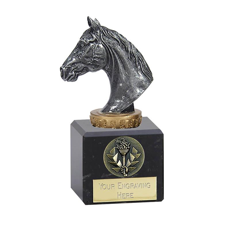 12cm Horse Head Figure on Horse Riding Classic Award