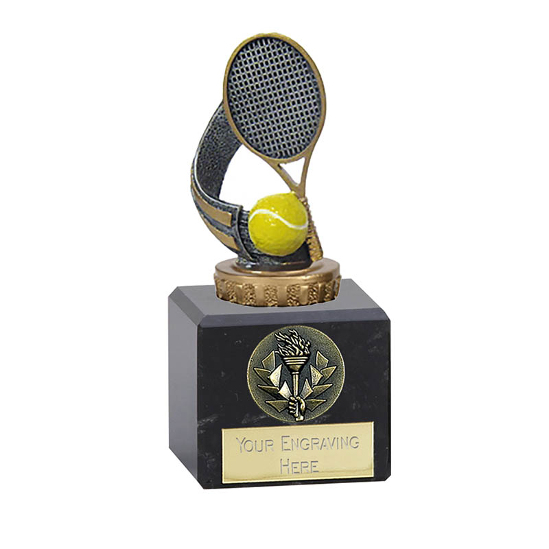 12cm Tennis Figure On Classic Award