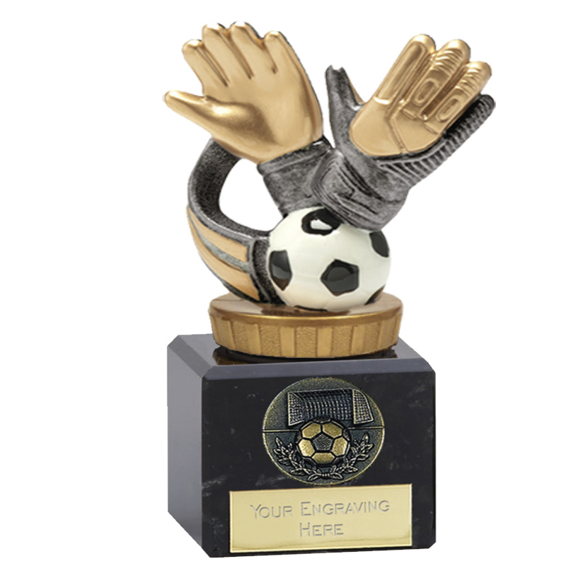 12cm Keeper Glove Figure on Football Classic Award
