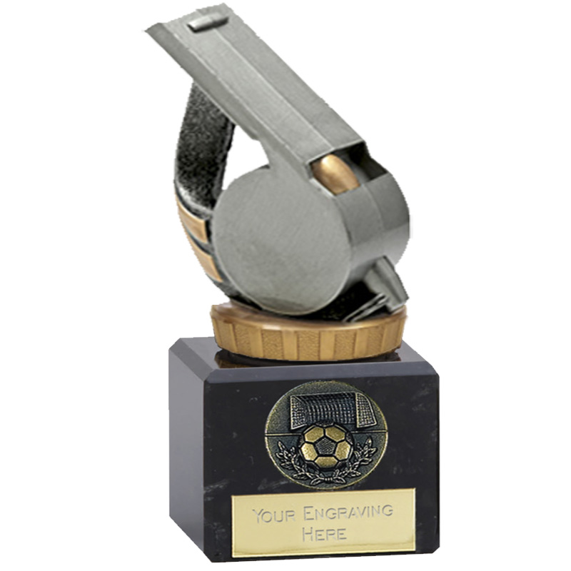 12cm Whistle Figure on Classic Award