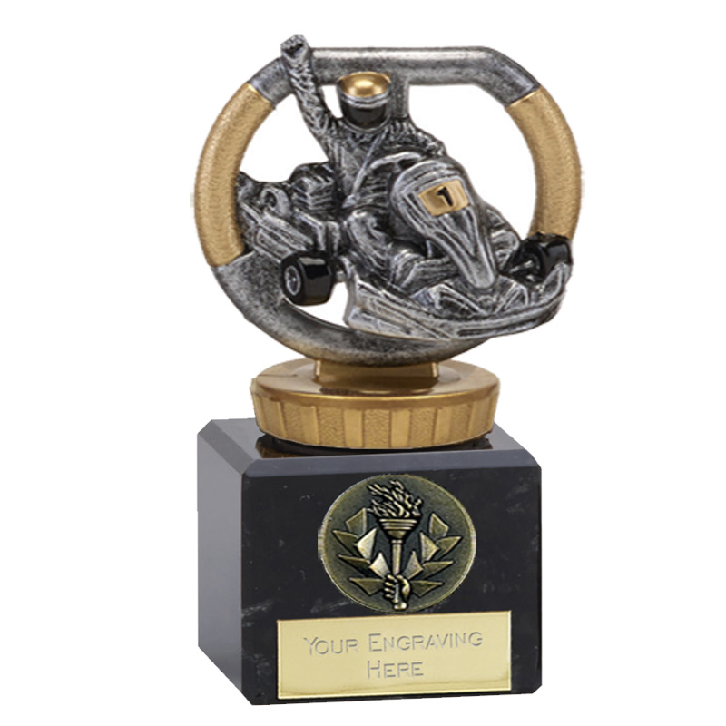12cm Go-Kart Figure on Motorsports Classic Award