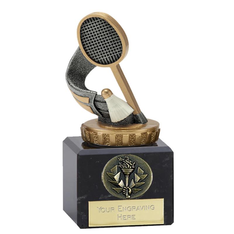 12cm Badminton Figure On Classic Award
