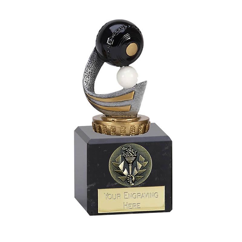 12cm Lawn Bowls Figure on Bowling Classic Award